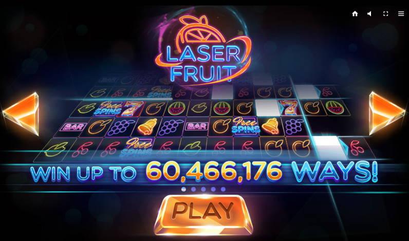 Победа в игре Laser Fruit